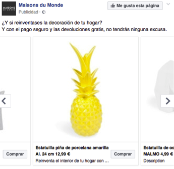 Awesome with facebook maison du monde for Maison du monde facebook