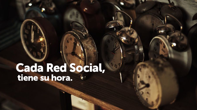 Cuando publicar en Redes Sociales